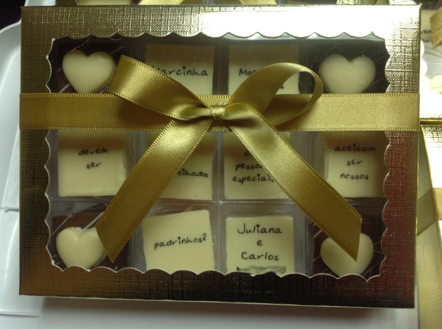 Convite De Chocolates