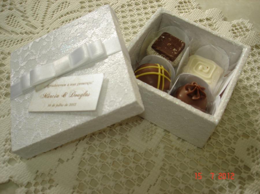 Populares Convite de Chocolates TG71